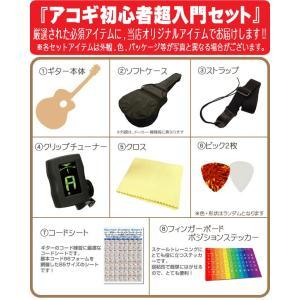 ミニギター アコギ Legend FG-15 1/2 アコースティックギター 初心者 超入門 8点セット|ebisound|05