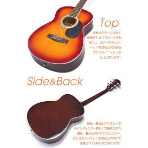 アコースティックギター アコギ 初心者 ハイグレード16点セット Legend レジェンド  FG-15|ebisound|04