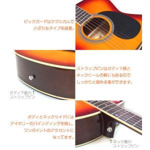 アコースティックギター アコギ 初心者 ハイグレード16点セット Legend レジェンド  FG-15|ebisound|05