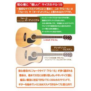 アコースティックギター アコギ 初心者 ハイグレード16点セット Legend レジェンド  FG-15|ebisound|07