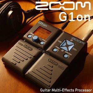 ZOOM  G1on  エレキギター用 マルチエフェクター