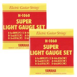 YAMAHA エレキギター弦 H-1060 〔3セット〕 【ネコポス(旧速達メール便)送料230円】|ebisound