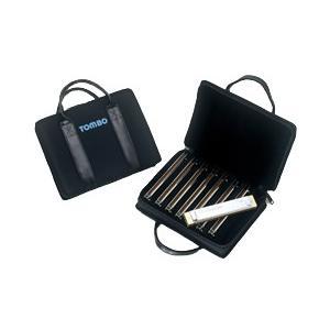 トンボ ハーモニカ TOMBO 複音21穴、22穴専用キャリングケース HC-2108 8本入ソフトケース|ebisound