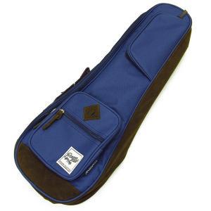 IBANEZ アイバニーズ IUBC541-NB コンサート ウクレレ用 バッグ ケース ネイビーブルー POWERPAD Designer Collection Bag for Concert Style Navy Blue|ebisound