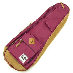 IBANEZ アイバニーズ IUBC541-WR コンサート ウクレレ用 バッグ ケース ワインレッド POWERPAD Designer Collection Bag for Concert Style Ukulele Wine Red|ebisound