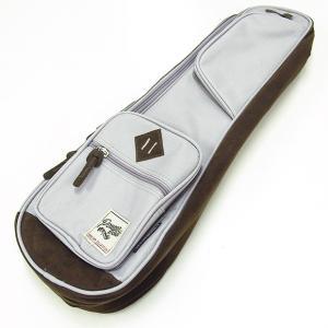 IBANEZ アイバニーズ IUBS541-GY ソプラノ ウクレレ用 バッグ ケース グレイ POWERPAD Designer Collection Bag for Soprano Style Ukulele Gray|ebisound