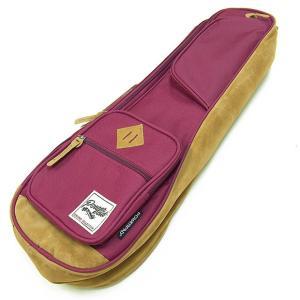 IBANEZ アイバニーズ IUBS541-WR ソプラノ ウクレレ用 バッグ ケース ワインレッド POWERPAD Designer Collection Bag for Soprano Style Wine Red|ebisound