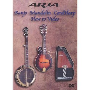 ARIA Banjo Mandorin CordHarp How to Video|ebisound