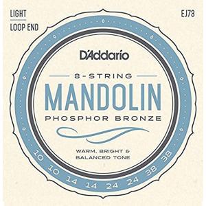D'Adario ダダリオ マンドリン弦セット EJ73 Mandolin/Light 【J73】 【ネコポス(旧速達メール便)送料230円】|ebisound