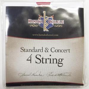 KAMAKA  Standard & Concert String 4 カマカ スタンダード コンサート用ウクレレ弦 【ネコポス(旧速達メール便)送料230円】|ebisound