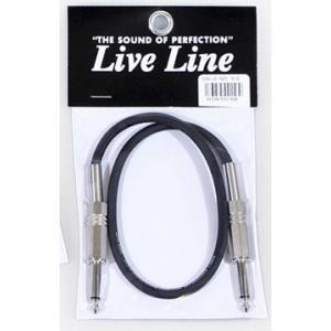 Live Line ギター/ベース用ケーブル LE-1M S/S 1m|ebisound