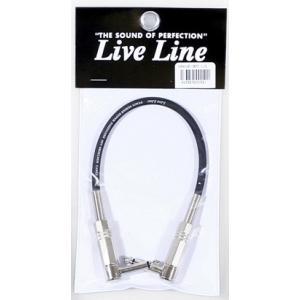 Live Line ギター/ベース用ケーブル LE-30C L/L 30cm|ebisound