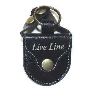 Live Line レザーピックケース LPC1200 BK ブラック 【ネコポス送料210円】 【代引きの場合送料¥580】 【旧速達メール便】|ebisound