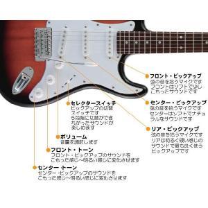 エレキギター 初心者 セット ZOOM G1on付  LST-Z/3TS Legend エレキギター 入門 16点セット|ebisound|04