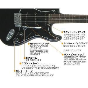 エレキギター 初心者 セット ZOOM G1on付  LST-Z/BBK Legend エレキギター 入門 16点セット ebisound 04