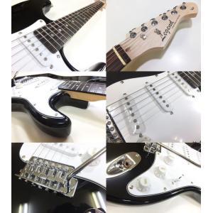 エレキギター 初心者 セット ZOOM G1on付  LST-Z/BK Legend エレキギター 入門 16点セット ebisound 03
