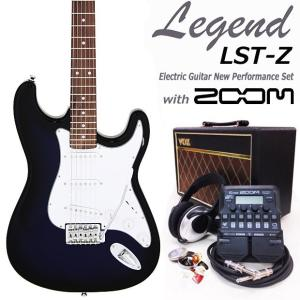 エレキギター 入門 セット VOXアンプ ZOOM G1on付 LST-Z/BBS Legend エレキギター 入門 16点セット|ebisound