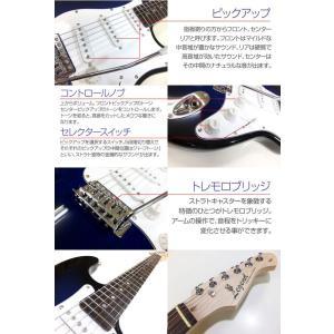 エレキギター 入門 セット VOXアンプ ZOOM G1on付 LST-Z/BBS Legend エレキギター 入門 16点セット|ebisound|02