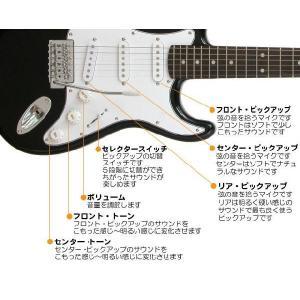 エレキギター 初心者 セット VOXアンプ ZOOM G1Xon付 LST-Z/BK Legend エレキギター 入門 16点セット|ebisound|04