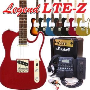 エレキギター 初心者セット Legend レジェンド LTE...