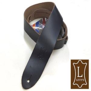 Levy's レビース ストラップ M12 BLK Leather|ebisound