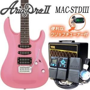 エレキギター 初心者セット VOXアンプ付 Aria Pro...