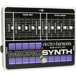 Electro Harmonix エレクトロ ハーモニクス Micro Synthesizer   Analog Guitar Microsynth<アウトレット>|ebisound
