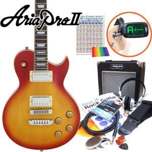 エレキギター 初心者セット Aria Pro II アリアプロ2 PE-350/CS 初心者セット15点  ebisound