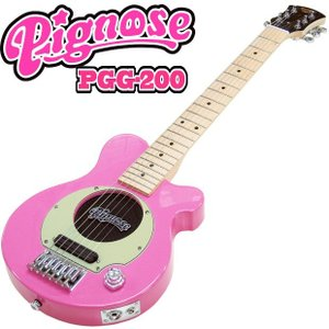 Pignose ピグノーズ PGG-200 PK アンプ内蔵ミニギター 専用ケース付属 ピンク 数量...