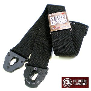 Planet Waves ストラップ Planet Lock Black PWSPL200|ebisound