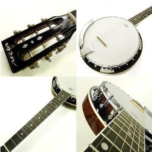 バンジョー ARIA SB-10G ギターバンジョー 8点セット|ebisound|03