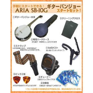 バンジョー ARIA SB-10G ギターバンジョー 8点セット|ebisound|05