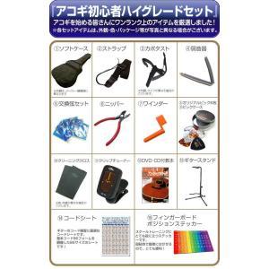 アコースティック・ギター アコギ 初心者セット SX SD2 アコギハイグレードセット|ebisound|06