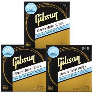 GIBSON ギブソン エレキギター弦 Brite Wires SEG-700L 〔3セット〕 【ネコポス送料210円】 【代引きの場合送料¥450】 【旧速達メール便】|ebisound