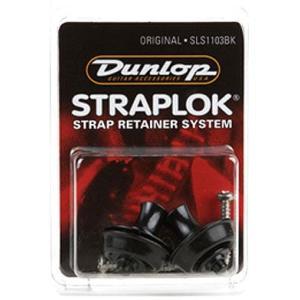 ダンロップ ロックピン Dunlop SLS1103BK Original Black 【ネコポス送料210円】 【代引きの場合送料¥580】 【旧速達メール便】|ebisound