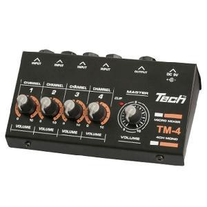 TECH マイクロ ミキサー TM-4|ebisound