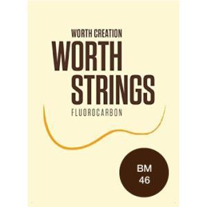 ワースストリングス Worth Strings フロロカーボン ウクレレ弦セット ブラウン ミディアム BM 【ネコポス送料210円】 【代引きの場合送料¥580】|ebisound