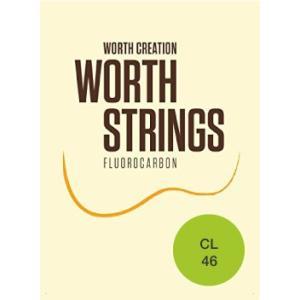 ワースストリングス Worth Strings フロロカーボン ウクレレ弦セット クリア ライト CL【ネコポス(旧速達メール便)送料230円】|ebisound