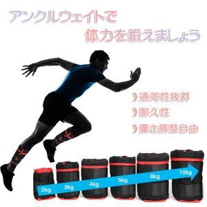 【RAKU】 アンクルウェイト 体幹トレーニング 通気性抜群 重さ調整可能 耐久性 2個入 手足両用 洗濯可 リストウェイト リスト