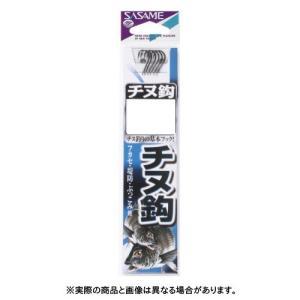 ささめ針 AA302 チヌ(黒)糸付 4号 【ハリ・フック】