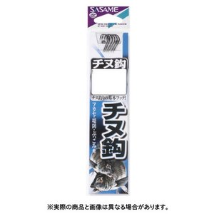 ささめ針 AA301 チヌ(白)糸付 4-2号 白