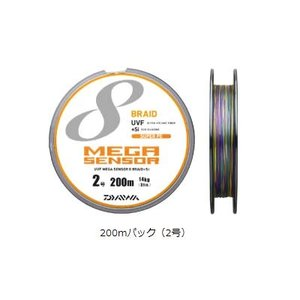 ダイワ UVFメガセンサー 8ブレイド+Si 300mパック 2号|ebisu3