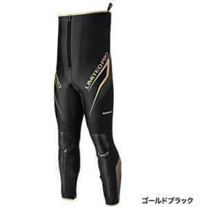 シマノ リミテッドプロ・タイツ TI-151P ゴールドブラック|ebisu3