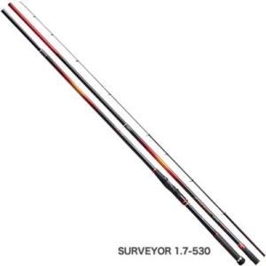 シマノ FIRE BLOOD Gure[ファイアブラッド グレ] サーベイヤー 1.7-530 スピニングロッド|ebisu3