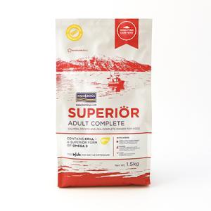 フィッシュ4ドッグ スーペリア アダルト 3kg(1.5kg×2)|ebisupet