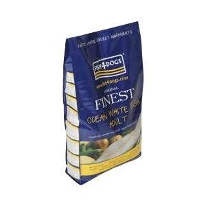 フィッシュ4ドッグ オーシャンホワイトフィッシュ 小粒 6kg 【6kg×1袋または3kg×2袋】|ebisupet