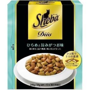 シーバデュオ ひらめと旨みがつお味 240g(20g×12袋入り)|ebisupet