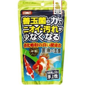 イトスイ コメット 金魚の主食 納豆菌 中粒 200g|ebisupet