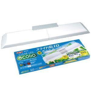 GEX(ジェックス) LEDライト クリアLED エコリオ スライド 幅30〜40cm水槽用 ebisupet