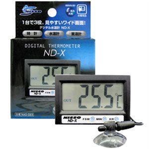 ニッソー デジタル水温計ND-X NAD-023|ebisupet